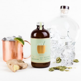 Homemade Moscow Mule Ginger