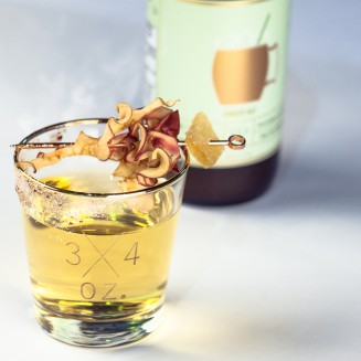 Gin+Ger apple pie Ginger